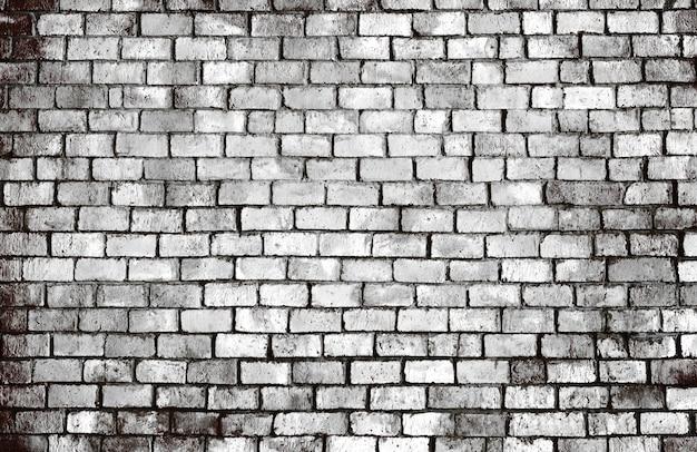 Vieux fond de mur de brique texturé Photo gratuit