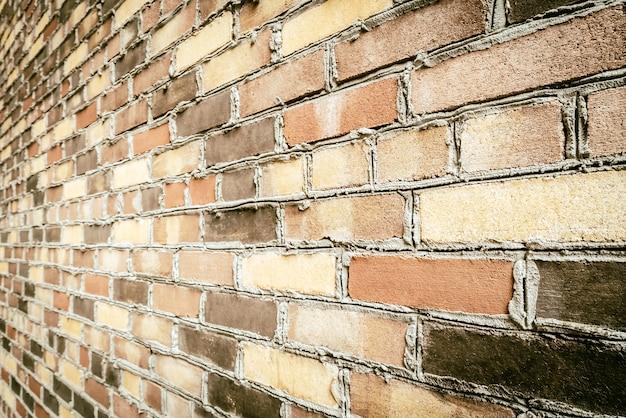 Vieux fond de mur de briques vintage Photo gratuit