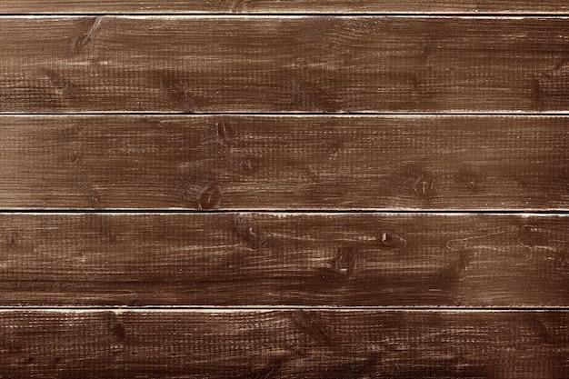 Vieux fond de planche de bois brun foncé vintage Photo gratuit