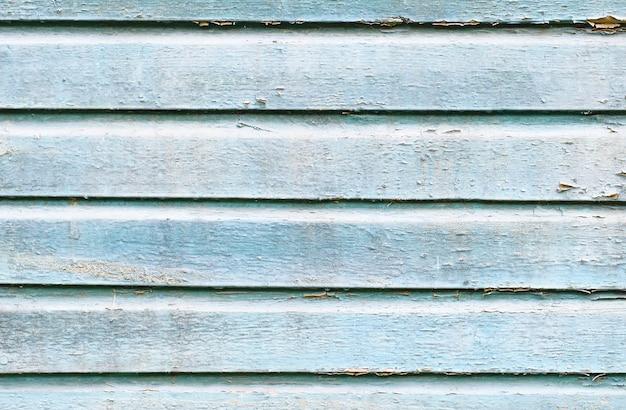 Vieux Fond Rustique Bleu Clair Peint En Bois, Peinture écaillée Photo Premium
