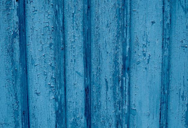 Vieux Fond Rustique Bleu Clair Peint En Bois, Photo Premium