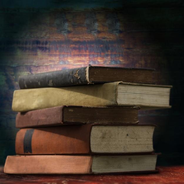 Vieux livres Photo Premium
