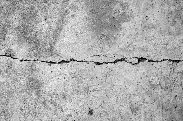 Vieux mur de béton gris Photo Premium