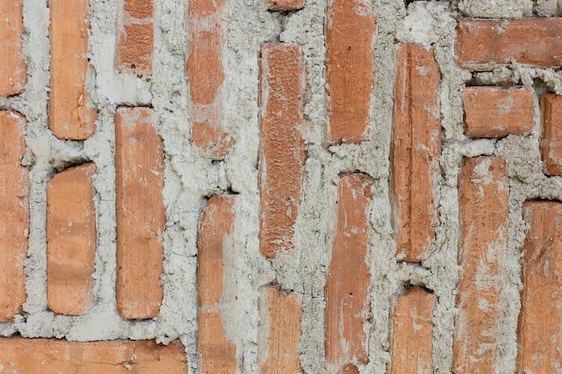 Vieux mur de briques bouchent l'image pour le fond. Photo Premium
