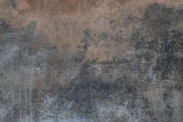 Vieux mur de ciment en béton gris foncé Photo Premium