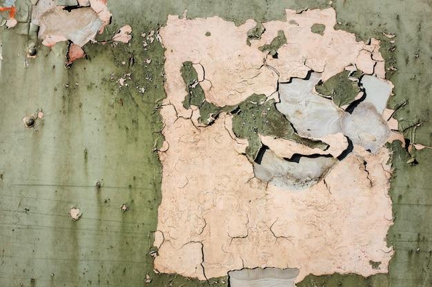 Vieux peaux de peinture rouillées Photo Premium