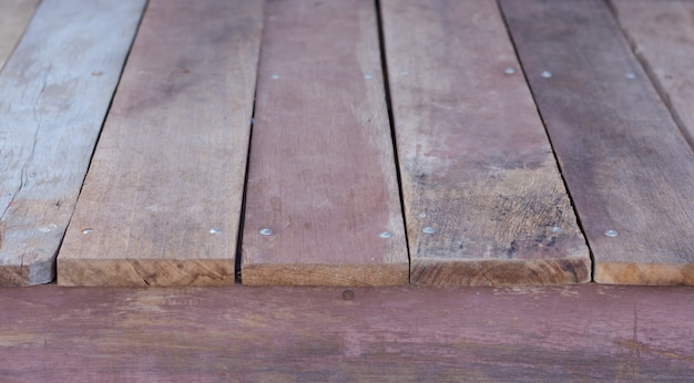 Vieux textures d'arrière-plans vintage bois brun rouge grungy Photo Premium