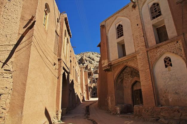 Vieux village d'abyaneh en iran Photo Premium
