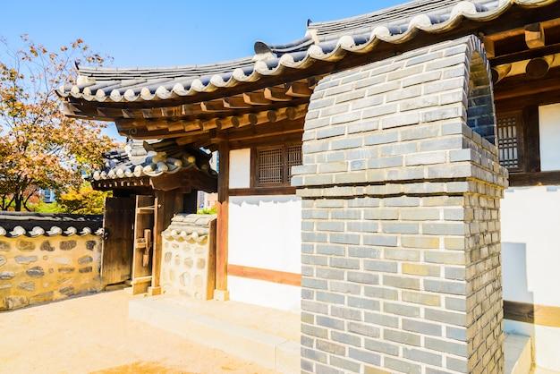 Village hanok namsangol Photo gratuit