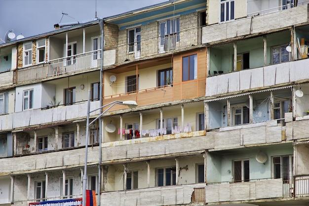 Ville de chouchi dans le nagorno - karabakh, caucase Photo Premium