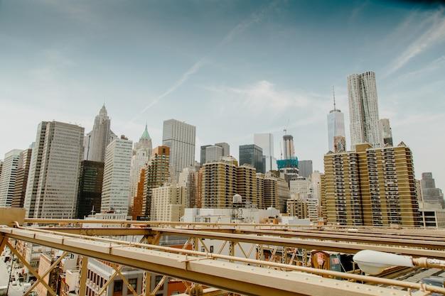 La ville de new york Photo Premium