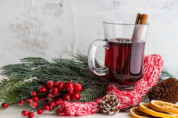 Vin chaud de noël Photo Premium