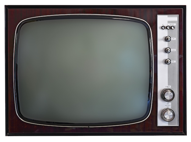 Vintage Tv Photo Premium