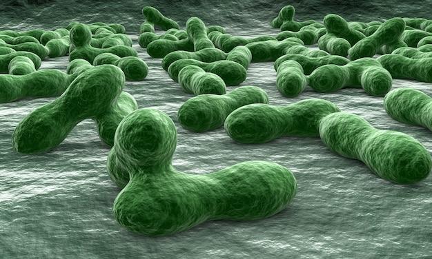 Virus et bactéries pour la médecine Photo Premium