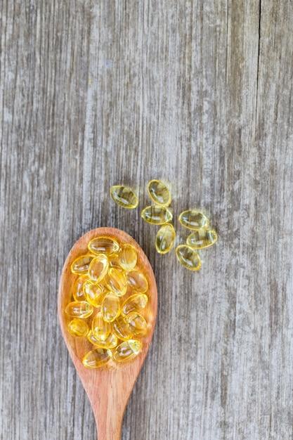 Vitamines saines, oméga 3 Photo Premium
