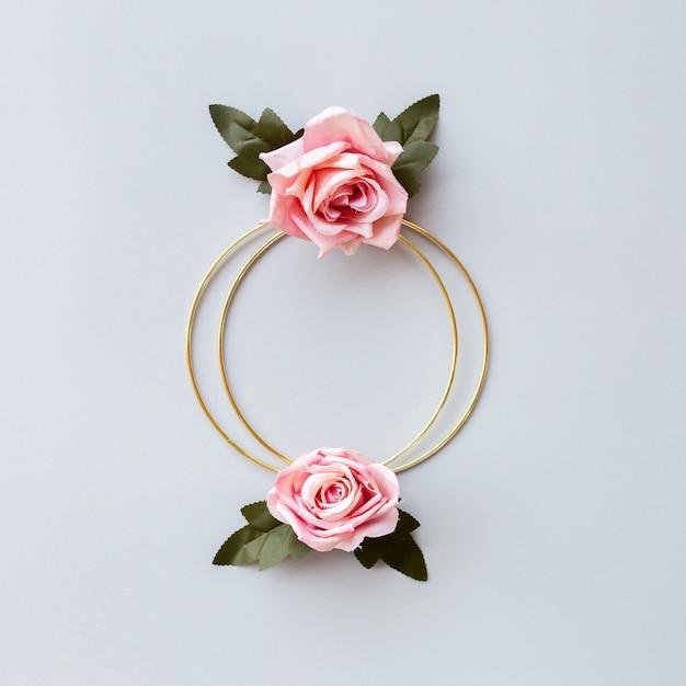 Voeux De Mariage Floral Photo gratuit