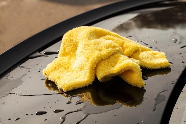 Voiture de nettoyage. Photo Premium