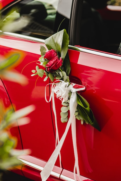 Une voiture vintage de luxe Photo Premium