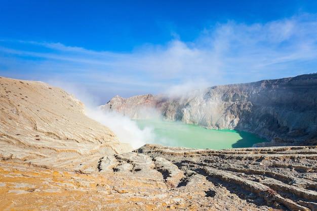 Volcan ijen Photo Premium