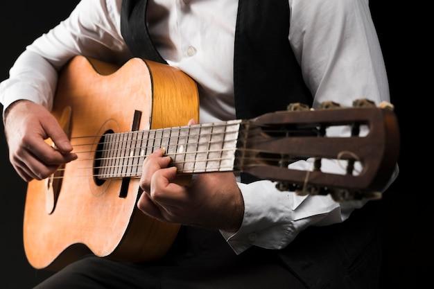 Voyante, Coup, Jouer, Classique, Guitare Photo gratuit