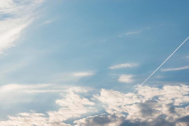 Vue aérienne de cloudscape Photo gratuit