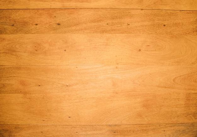 Une vue aérienne du bureau en bois Photo gratuit