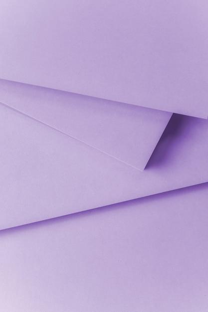 Une vue aérienne de fond texturé de papier violet Photo gratuit