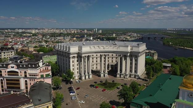 Vue Aérienne De La Place De Sofia Et De La Place Mykhailivska Photo gratuit