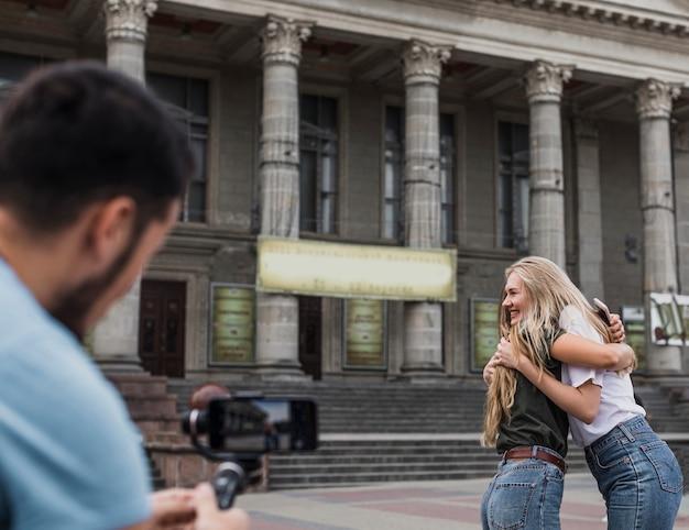 Vue Arrière, Photographier, Femmes Photo gratuit