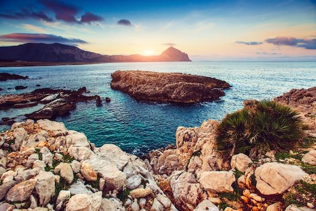 Vue Sur La Côte Pacifique Photo Premium