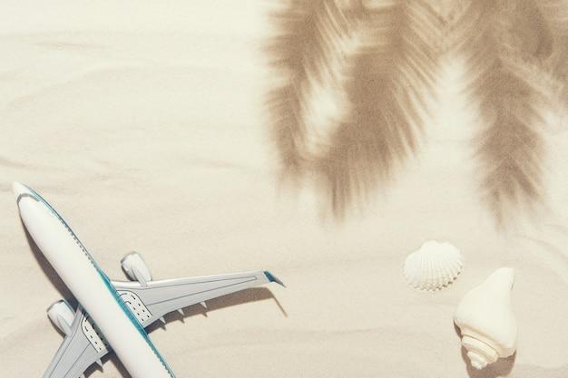Vue De Dessus D'un Avion Blanc Photo Premium