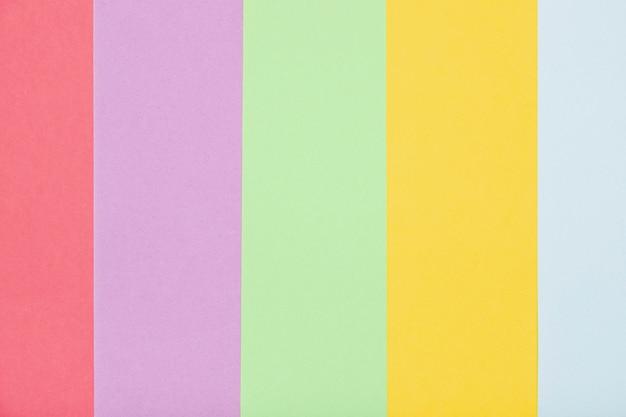 Vue De Dessus Couleurs Colorées Photo gratuit