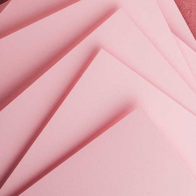 Vue de dessus de différentes feuilles de papier Photo gratuit