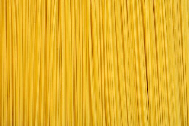 Vue De Dessus Du Fond De Spaghetti Cru Photo gratuit