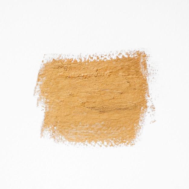 Vue De Dessus De La Ligne De Peinture Dorée Photo gratuit