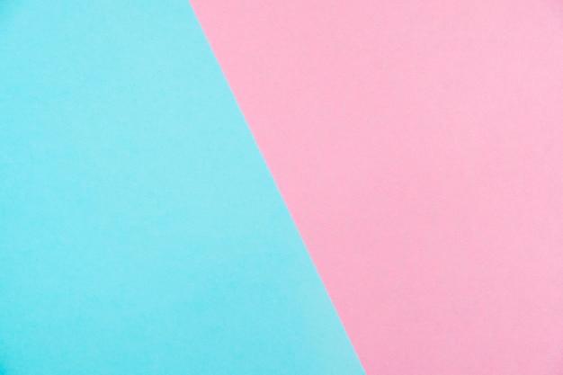Vue de dessus de papier couleur pastel Photo Premium