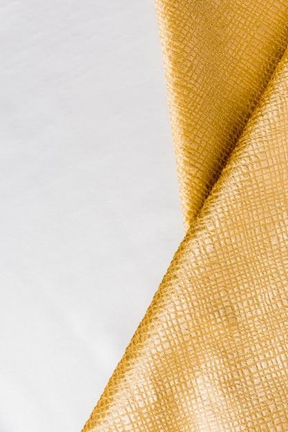 Vue De Dessus Texture Dorée Lisse Photo gratuit