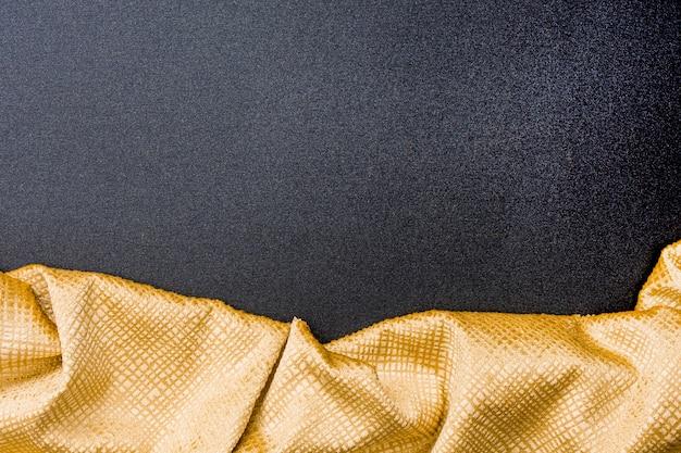 Vue De Dessus Texture Ligne Dorée Avec Espace Copie Photo gratuit