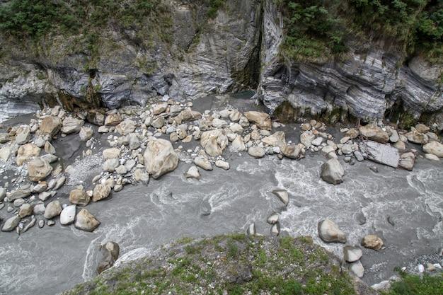 Vue Du Paysage Du Parc National De Taroko à Hualien, Taiwan. Photo Premium