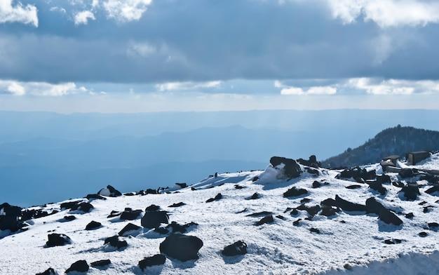Vue du volcan etna. Photo Premium