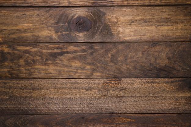 Vue élevée de l'ancien bureau en bois Photo gratuit
