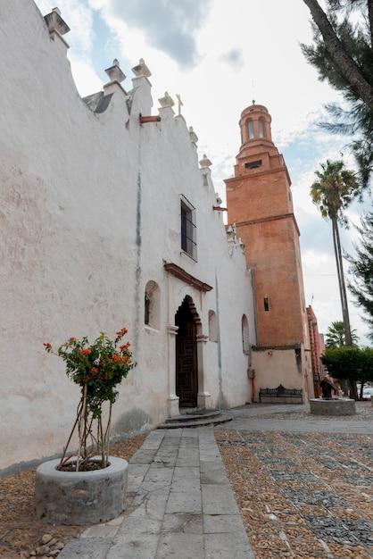 Vue De L'extérieur De L'église, Sanctuaire D'atotonilco, San Miguel De Allende, Guanajuato, Mexique Photo Premium