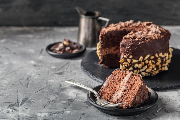 Vue De Face Du Concept De Délicieux Gâteau Photo gratuit