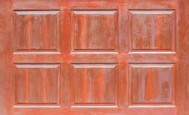Vue De Face Du Panneau En Bois Motif, Fenêtre Ou Porte De Panneaux En Bois De Mur En Bois Grunge Utilisé Comme Arrière-plan Photo Premium