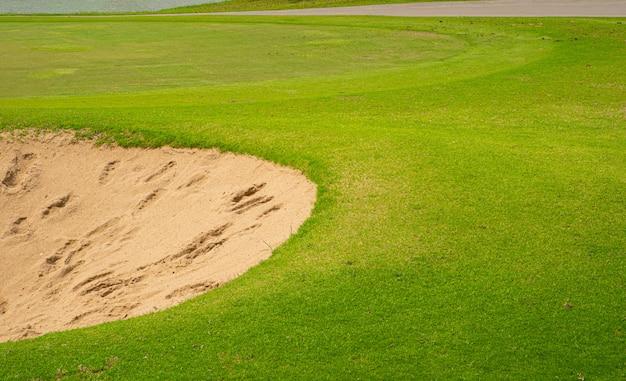 Vue sur le golf Photo Premium
