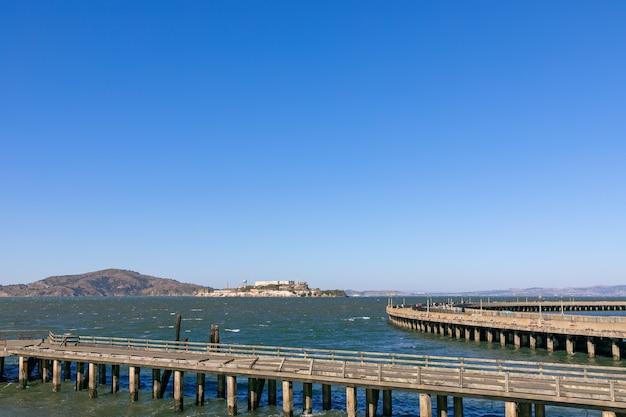 Vue De L'île D'alcatraz à San Francisco Photo Premium