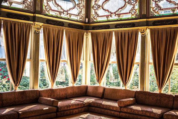 Vue intérieure d'un bâtiment à istanbul, en turquie Photo gratuit