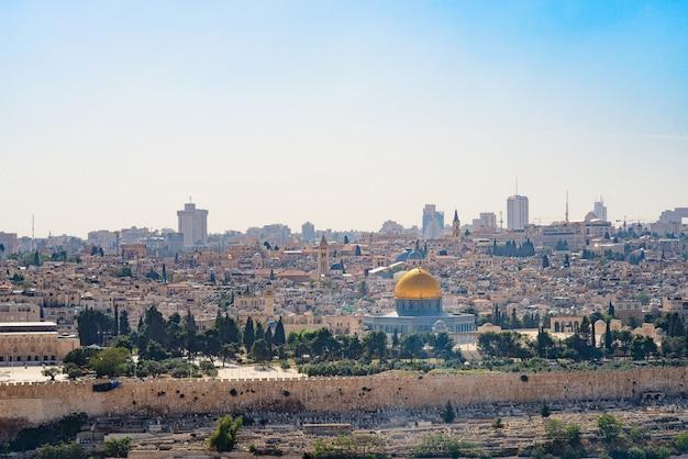 Vue De Jérusalem Photo Premium