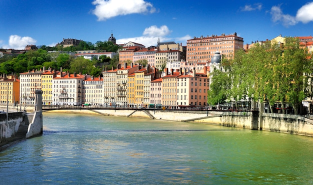 Vue De Lyon, France Photo Premium