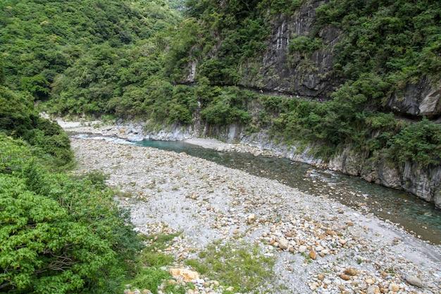 Vue De La Nature Dans Le Parc National De Taroko à Taiwan Photo Premium